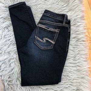 Silver Jeans dark wash size 28